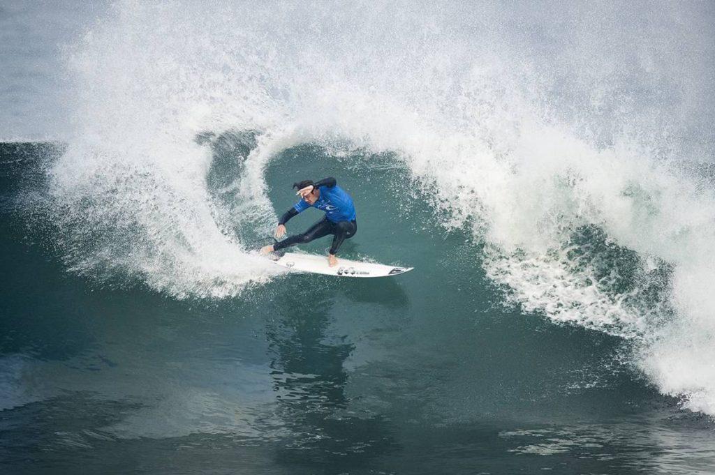 2017 Rip Curl Pro Bells Beach - Jordy Rings It!